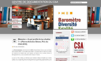 Le Centre de documentation du CSA