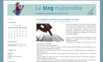 Le blog multimédia de l'AJP