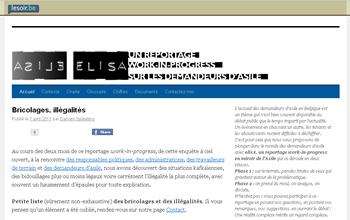 Elisa. Un reportage