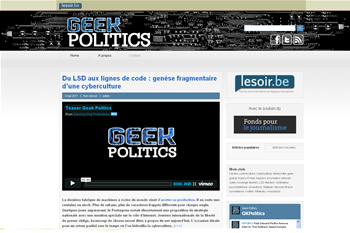 Geek politics