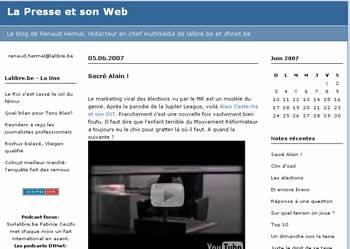 La Presse et son Web