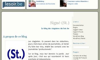 Signé (St)