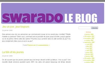Le blog du Swarado
