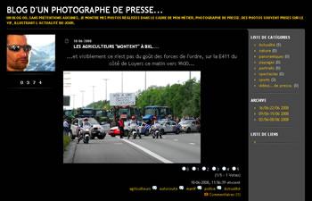 Blog d'un photographe de presse