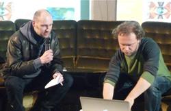 Arnaud Grégoire et Matthieu Lietaert - Photo AJP