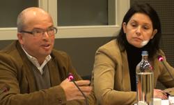 Stéphane Rosenblatt et Laurence Vandenbrouck