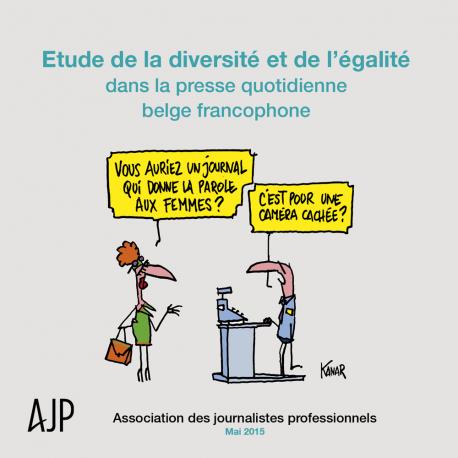 Étude de la diversité et de l'égalité dans la presse quotidienne belge francophone