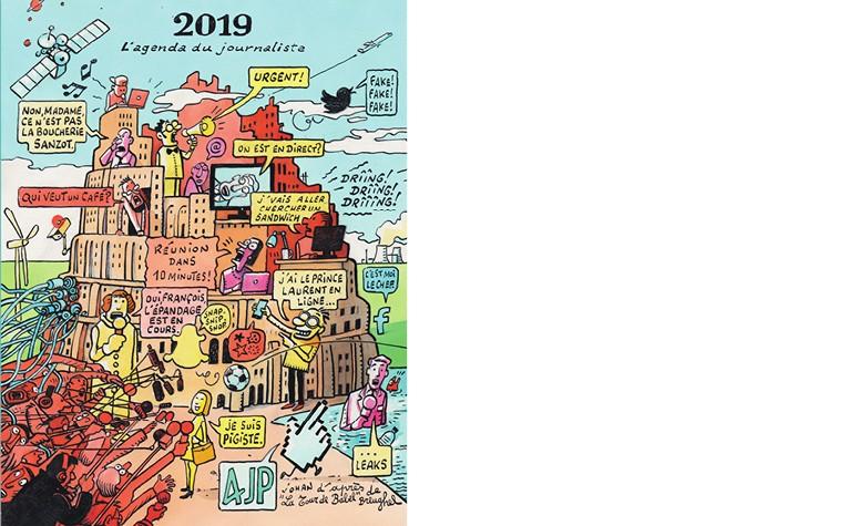 L'agenda 2019 du journaliste