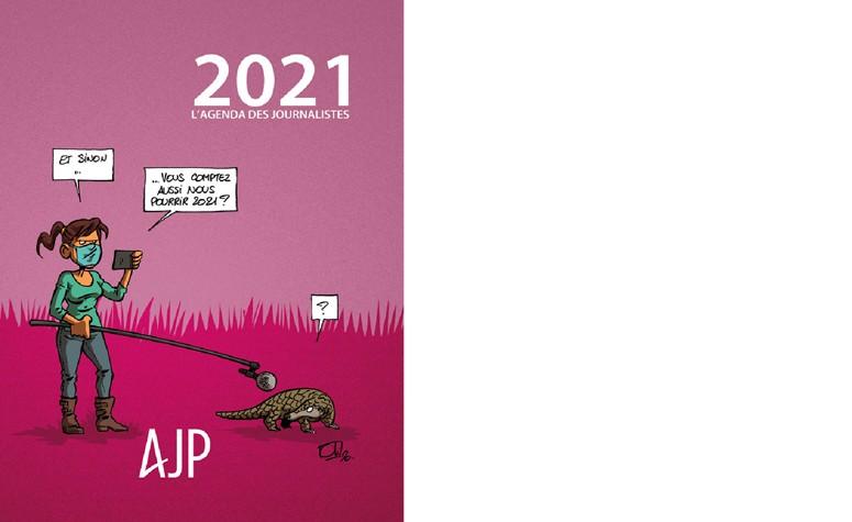 L'agenda 2021 des journalistes